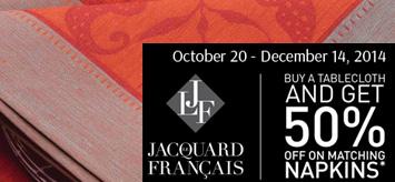 Le Jacquard Francais Table Linens