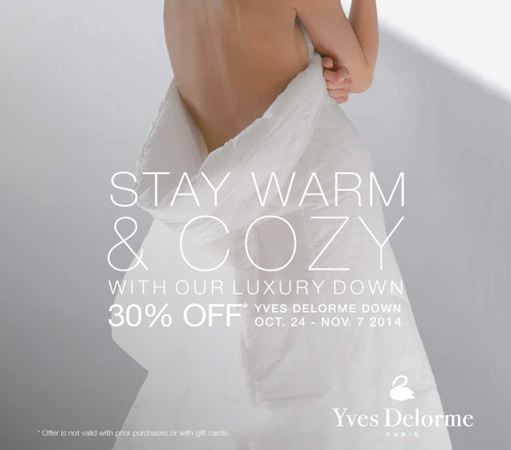 Yves Delorme Goose Down Comforters