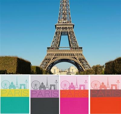 Le jacquard francais paris lumiere tea towels - Jacquard francais paris ...