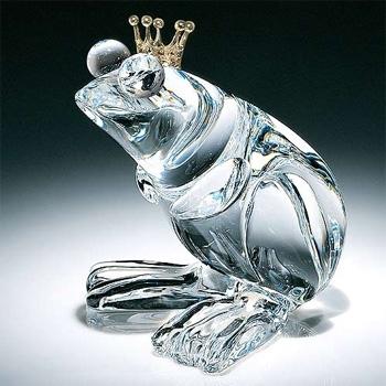 Frog Prince By Steuben Glass Official Steuben Glass Retailer