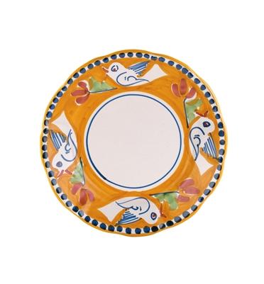 Vietri Campagna Uccello Salad Plate
